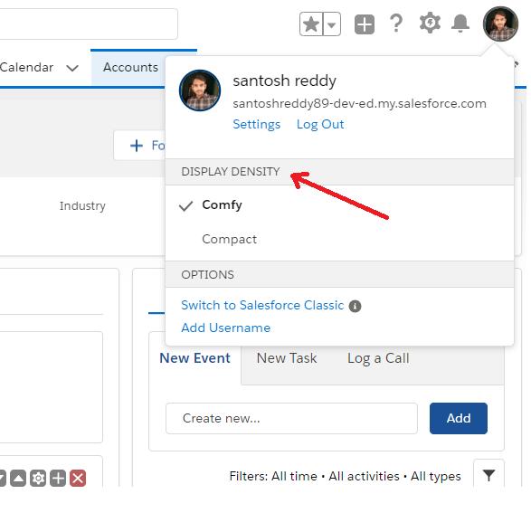 Salesforce Customize UI