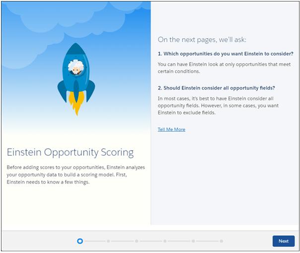 Einstein Opportunity Scoring Model