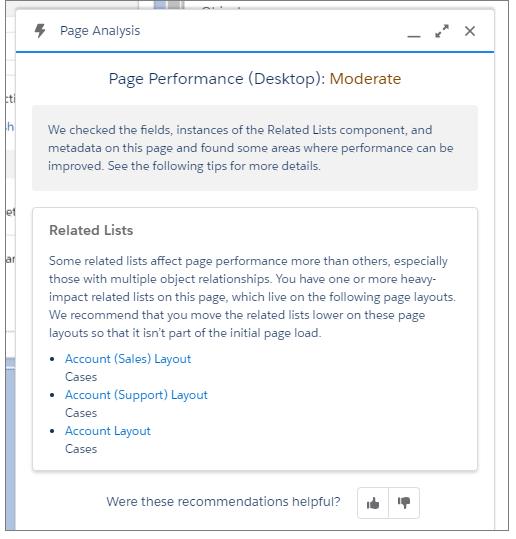 Optimize Lightning Page Performance
