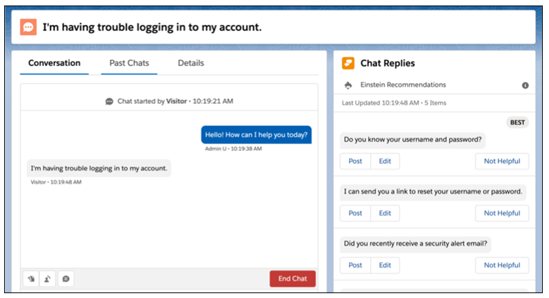 Chat Agents Respond Faster